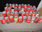Coca Cola cans of spain 40 different pieces  / nr 2666
