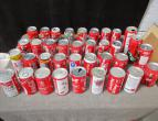 Coca Cola cans of germany 36 different pieces / nr 2677