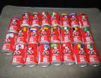 Coca Cola cans italy liga 96/97 1 ste division 23 pieces / nr 2772