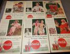 Coca Cola advertising from national geographic 6 piecces 1934 / nr 2792