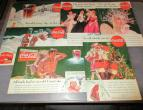 Coca Cola advertising from national geographic 6 piecces 1935 / nr 2793