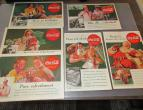Coca Cola advertising from national geographic 6 piecces 1938 / nr 2796