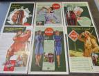 Coca Cola advertising from national geographic 6 piecces 1942 / nr 2800