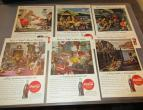 Coca Cola advertising from national geographic 6 piecces 1944 / nr 2802
