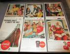 Coca Cola advertising from national geographic 6 piecces 1947 / nr 2805