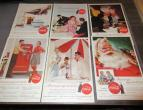 Coca Cola advertising from national geographic 6 piecces 1955 / nr 2813