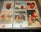 Coca Cola advertising from national geographic 6 piecces 1959 / nr 2817