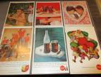 Coca Cola advertising from national geographic 6 piecces 1960 / nr 2818