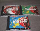 coca cola cd navigation set of 3 / nr 1497